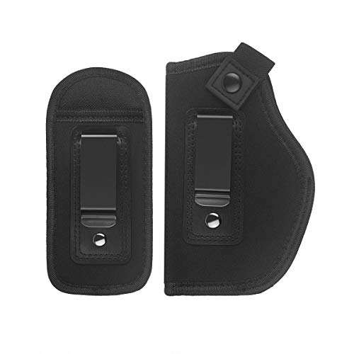 LIRISY Inside The Waistband Holster | Gun Concealed Carry IWB Holster | Fits S&W M&P Shield/Glock 19 26 27 29 30 33 42 43 / Ruger LC13 & All Similar Handguns