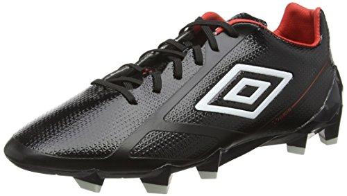 UMBRO Herren Velocita 2 Pro Hg Fußballschuhe, Schwarz (ECL-Black/White/Grenadine), 47.5 EU