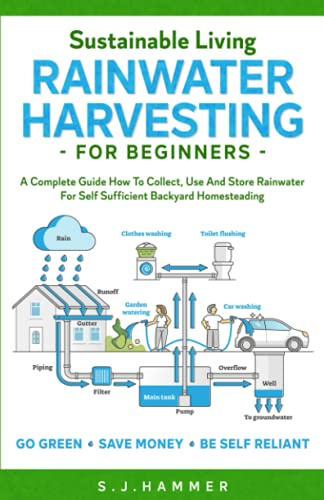 Compare Textbook Prices for Sustainable Living: Rainwater Harvesting For Beginners: A Complete Guide How To Collect, Use And Store Rainwater For Self-Sufficient Backyard Homesteading  ISBN 9798482212615 by Hammer, S.J.
