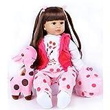 Bambola Reborn Grande con i capelli lunghi