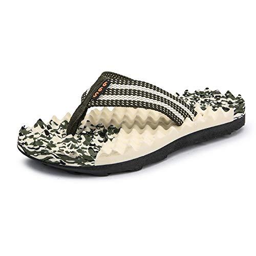 GYCZC Chanclas De Verano 2020 Zapatillas De Playa De Pellizco para Hombres Versión Coreana De Las Sandalias Antideslizantes Resistentes Al Desgaste De La Marea Hombre 39-45