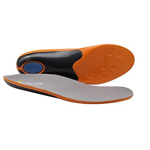 EVERHEALTH Plantillas de calzado con soporte de arco para correr/caminar/trabajar, plantilla ortopédica...