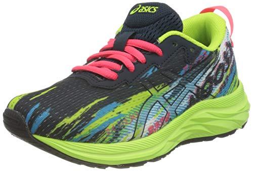 Asics Gel-Noosa Tri 13 GS, Road Running Shoe, French Blue/Hazard Green, 38 EU