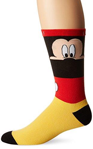 NEFF Herren Wäsche / Bademode / Socken Erscheinungsbild Out Mickey rot Einheitsgröße