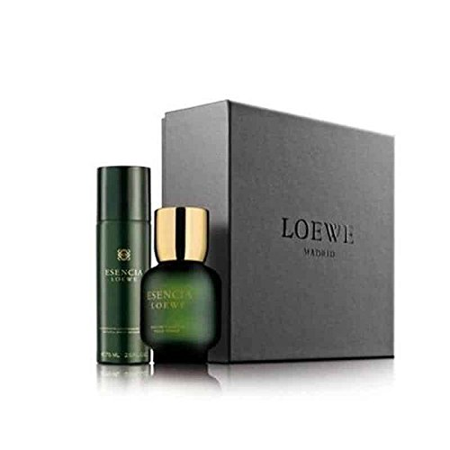 Loewe Esencia set 100 ml 3.4 floz+deodorant spray 75 ml2.5 floz+joyero jewellery