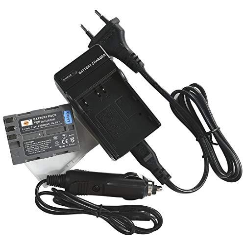 DSTE Repuesto Batería y DC11E Viaje Cargador kit para Nikon EN-EL3E D30 D50 D70 D70S D80...
