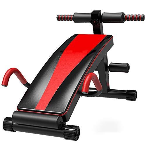 Sit-ups Fitness En Een Opklapbaar Multifunctionele Dumbbell Kruk, Geschikt For Mannen En Vrouwen Core Spier Exercise, 6 Hoogte Verstelbaar, Fitnesstoestellen