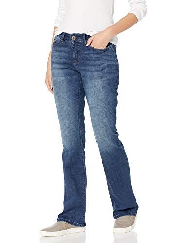 LEE Women's Modern Series Curvy Fit Bootcut Jean with Hidden Pocket, Cascade, 16 Short