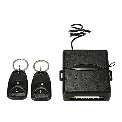 KKmoon Cerradura Central Remota de Coche Sistema de Entrada sin Llave con Controles Remotos para Automovil