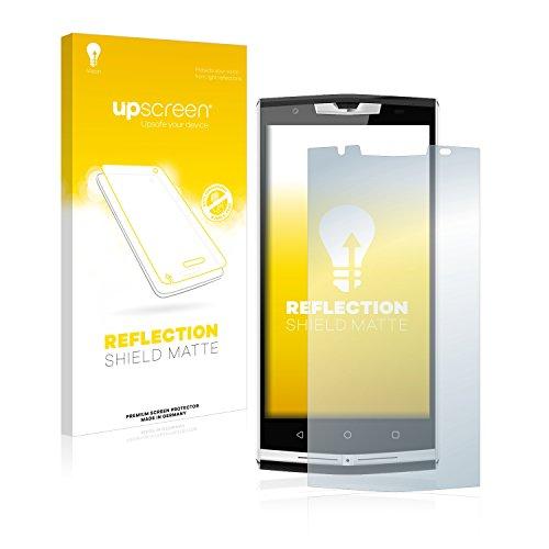 upscreen Entspiegelungs-Schutzfolie kompatibel mit Oukitel K10000 Pro – Anti-Reflex Bildschirmschutz-Folie Matt