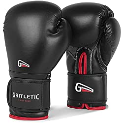 GRITLETIC POWERGRIP BOXING BAGS TRAINING GLOVES.