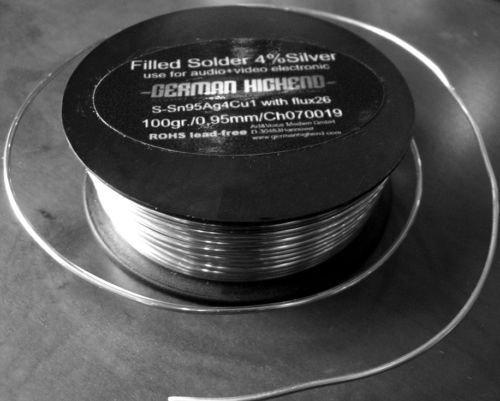 GERMAN HIGHEND Silberlot, silberhaltiges Lötzinn für höchstwertige Verbindungen