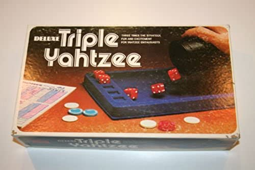 Deluxe Triple Yahtzee by Low-E