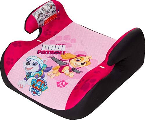 Osann Kindersitzerhöhung Topo Luxe ECE Gruppe 2/3 (15-36 kg), Sitzerhöhung für Kinder mit Armlehnen, Paw Patrol pink
