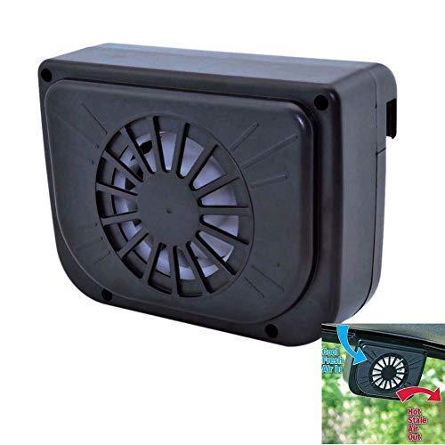 Winnes - Ventilador solar para coche, para ventana, mini ventilador, mini aire acondicionado, ventilador de verano, bomba de circulación de aire