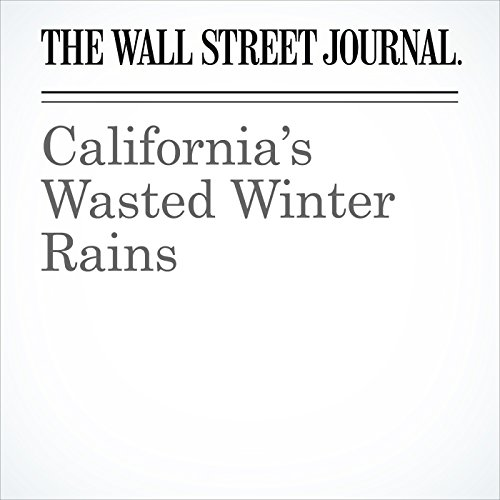 California's Wasted Winter Rains audiobook cover art