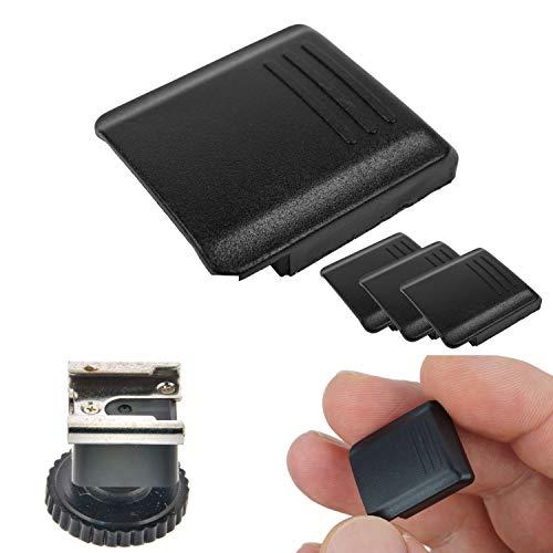 Cubierta Hot Shoe, Set de 3 Cubiertas de Hot Shoe, para Sony FA-SHC1AM/S y Minolta Maxxum, Cubierta de protección para Montaje del Hot Shoe, Accesorios de protección para cámara, Hot Shoe Cover Cap