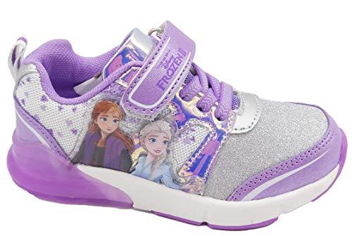 Frozen - scarpe bambina frozen ii con luci a led 24 25 26 27 28 29 30 31 32 disney autunno inverno - 30