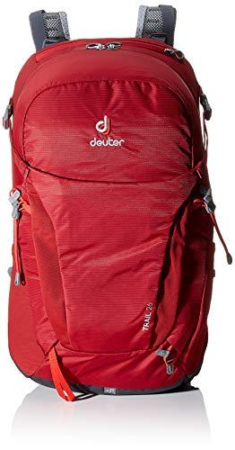 Deuter Trail 26 Trekking Backpack, Cranberry-Graphite, 55 cm