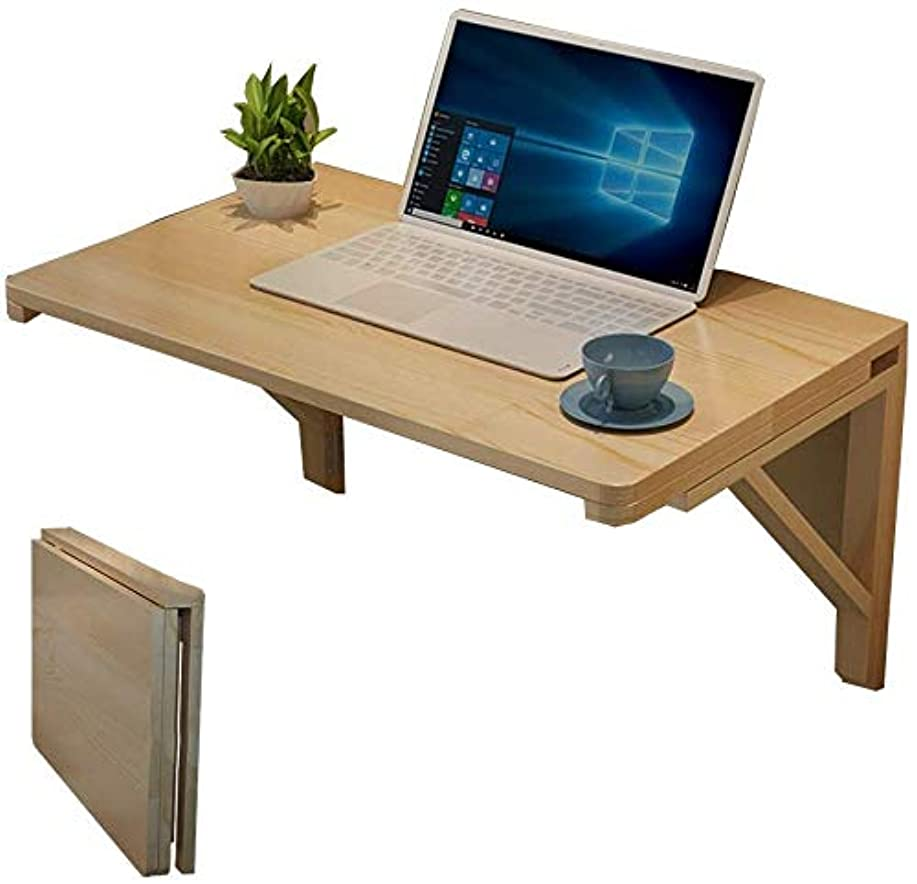 あたたかい単に賄賂折りたたみテーブル壁掛け、壁掛けドロップリーフテーブル、折りたたみキッチンテーブル、コンピューターデスク、木製テーブル