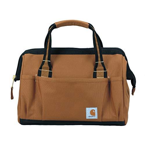"Carhartt Gear 390105B Heritage 14"" Tool Bag - One Size Fits All - Carhartt Brown"