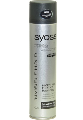 Syoss Invisible Hold Micro-Fine Haarspray, 400 ml