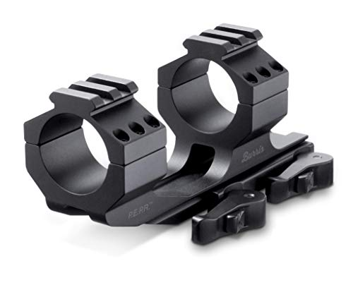 Burris Optics 410342, 410343, 410344 P.E.P.R. Riflescope Mount, Ideal Mounting Solution, Featuring Picatinny Ring Tops, Black, 30mm