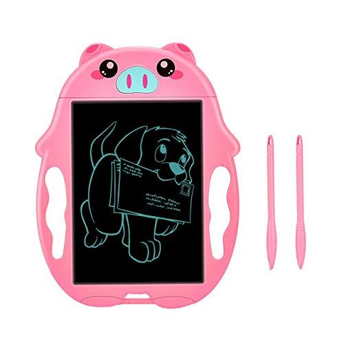 Preisvergleich Produktbild Kimy Spielzeug Mädchen 3 4 5 6 7 Jahre,  Geschenke für Mädchen 3-8 Jahre LCD Writing Tablet Geschenke Mädchen 3-8 Jahre Magnettafel Kinder Spielzeug ab 3-8 Jahre Mädchen Rosa