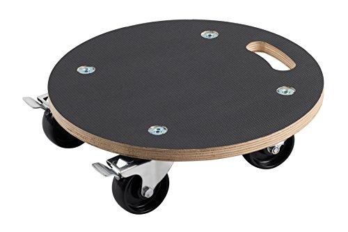 Meister transporte Roller Diámetro 380mm, 200kg, serigrafiado, Pa, tope, 822040