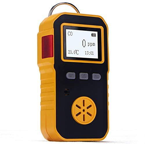 BOSEAN一酸化炭素測定器 検知器 CO検出器 CO漏れ検知 工業用センサー IP65 高精度 携帯用 USB充電 音 光 振動アラーム 日本語 英語切り替え可能
