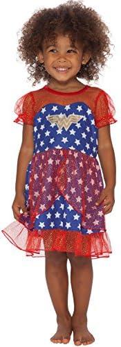 DC Comics Girls Big Wonder Woman USA Fantasy Nightgown Multi 10 12 product image