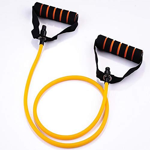 GAOHONGMEI Ejercicio Fitness Bandas de Resistencia Fisioterapia Adelgazamiento Crujidos para Pilates Bandas de Estiramiento Rehabilitación Velocidad Fuerza Elástico Cuerda de tracción Abdomen-Yellow