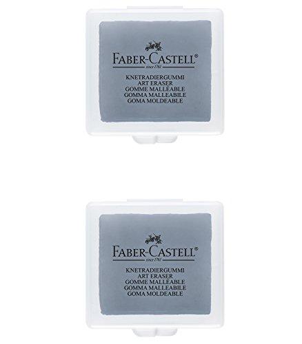 Faber-Castell B-7020-2 - Goma moldeable, color gris