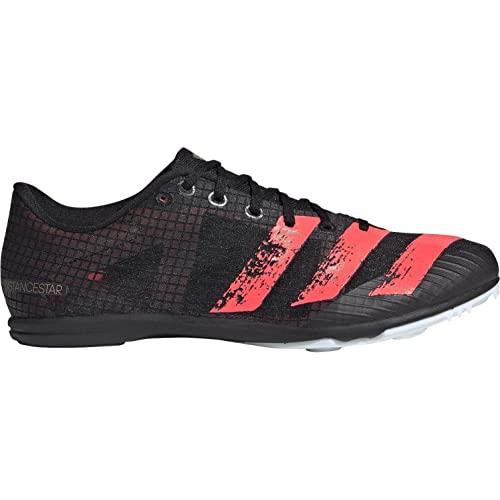 adidas Distancestar w, Zapatillas de Atletismo Mujer, NEGBÁS/ROSSEN/COBMET, 39 1/3 EU