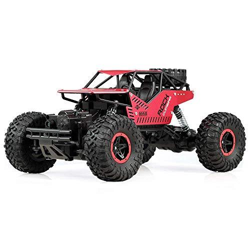 WGFGXQ 1:16 2,4G 4WD Coche eléctrico RC 26,5 cm Rock Crawler Control Remoto Coches de Juguete 4x4 conducción Todoterreno Juguetes Regalo para niños