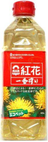 紅花食品 紅花 一番搾り ペット600g