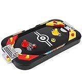 YXDS Gioco da Tavolo 2 in 1 di Hockey su Ghiaccio Gioco competitivo Mini Tavolo da Calcio Giocattoli educativi per Bambini interattivi Genitore-Figlio
