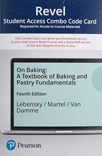 Revel for On Baking: A Textbook of Baking and Pastry Fundamentals -- Combo Access Card