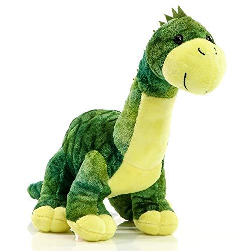 Minifeet Kuscheltier Dino Tino - Plüschtier Spielzeug Dinosaurier - Geschenk für Kinder Baby Mädchen Junge Geburtstag - kuscheln schmusen flauschig Stofftier
