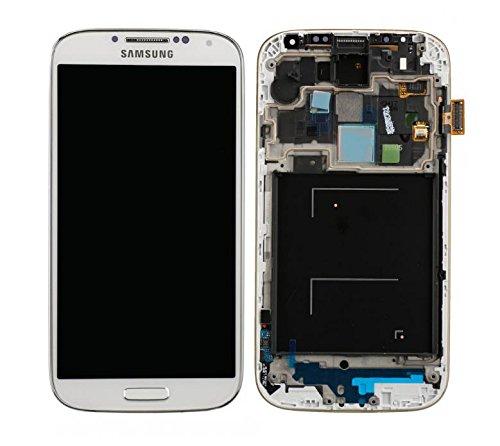 Handyteile24 ✅ AMOLED Display Bildschirm Digitizer Touchscreen in Weiß GH97-14655A für Samsung Galaxy S4 i9505 i9515