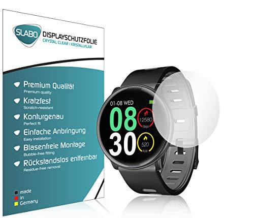 Slabo 4 x Bildschirmschutzfolie für UMIDIGI Uwatch2 Bildschirmschutz Schutzfolie Folie Crystal Clear KLAR