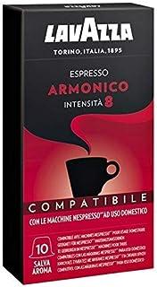 Lavazza Cápsulas de café Armonico - Paquete de 10 cápsulas
