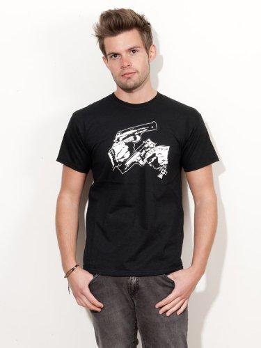 BIGTIME.de T-Shirt Boondock Saints der Blutige Pfad Gottes Aequitas Veritas Kult Film Shirt E109 - Gr. L