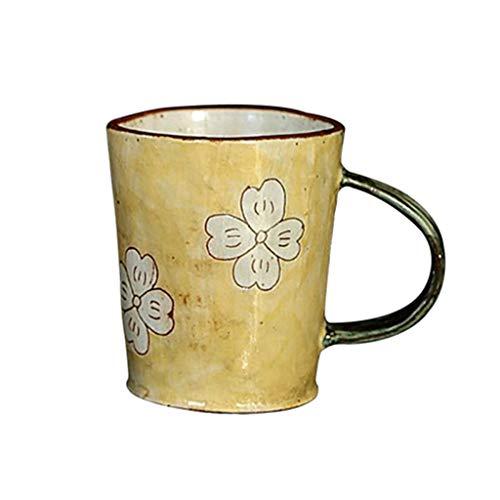 Hbao Taza De Oficina Retro Taza De Café Personalizada Taza De Leche De Cerámica Minimalista Desayuno Creativo Decoración del Hogar (Color : B)