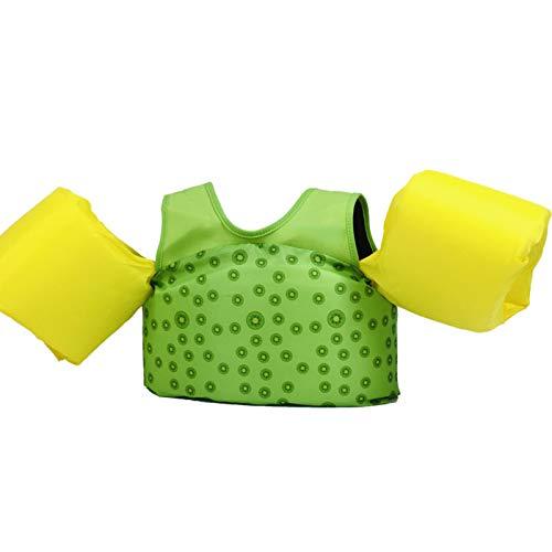 Chaleco flotador para natación para piscina, ayuda para entrenamiento con flotador para piscina, chaleco / flotador para brazos, accesorio flotante para niños de 30 a 50 libras, chaleco para nadar p