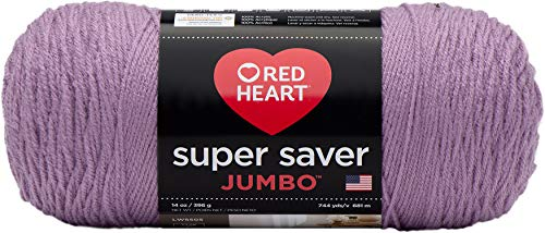 Coats & Clark Orchid Red Heart Super Saver Jumbo