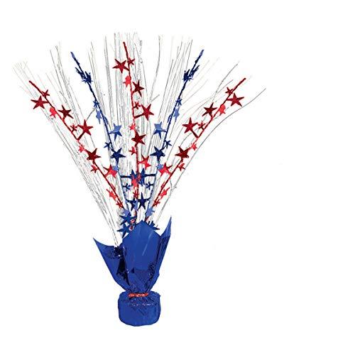 Amscan International USA 4e juli Folie Spray tafel Centrepieces (6 Pack)
