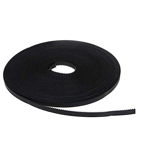1PCS 5m GT2-6mm Open Timing Belt Width 6mm GT2 Belt Rubbr Fiberglass Cut To Length For 3D Printer Parts