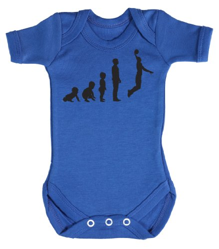 Evolution to A Basketball Player Body b/éb/é 100/% Coton Baby Buddha