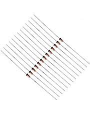 500 piezas de diodo de conmutación rápida 1N4148 200mA 100V Conjunto de surtido de componentes electrónicos Kit surtido de diodos